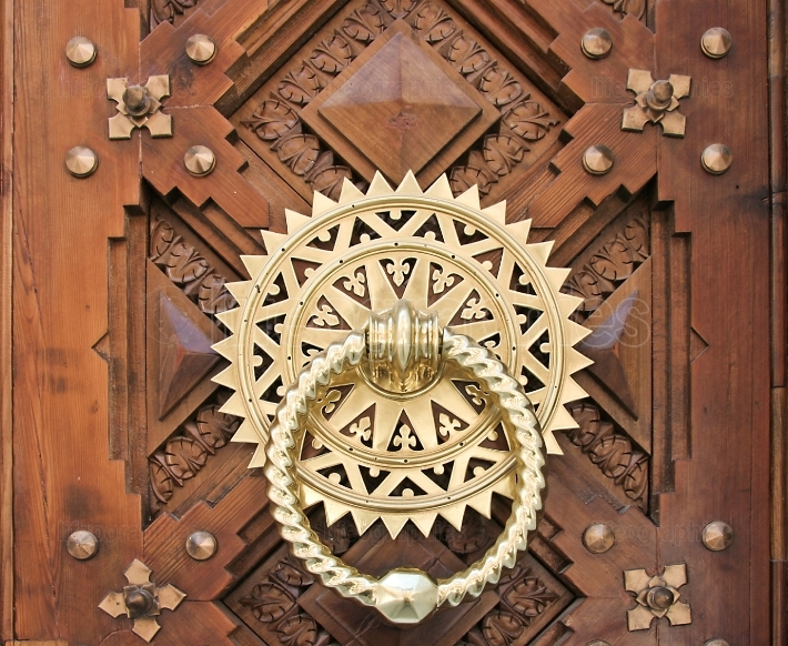 Luxury Golden doorknocker