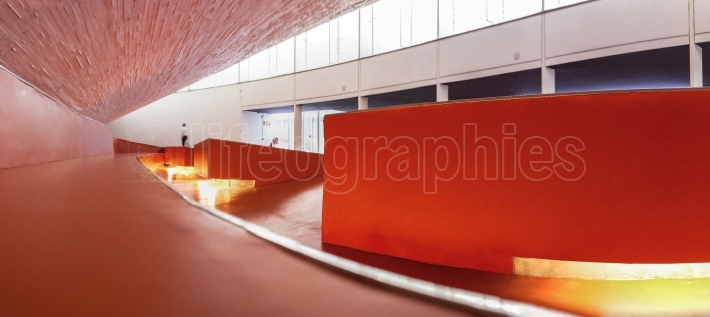 Manuel Rojas Congress Center, Badajoz, Spain  Hall Interior