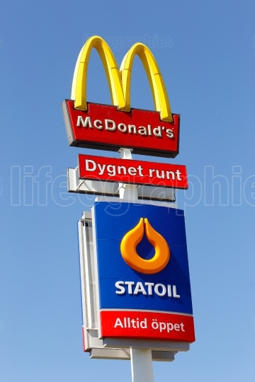McDonalds and Statoil co location