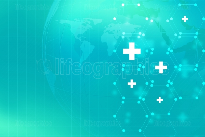 Medical Abstract Background Concept Series 155