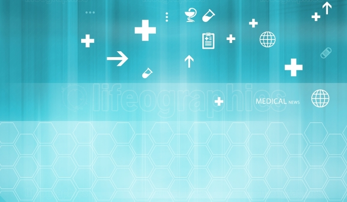 Medical Abstract Background Concept Series 395