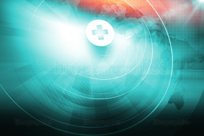 Medical Abstract Background Concept Series 398