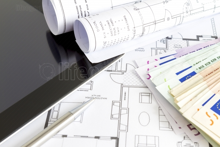 Money and house plans