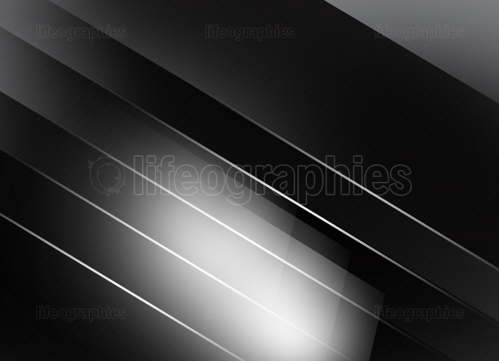 Monochromatic Gray Background with Surfaces and White Lines III