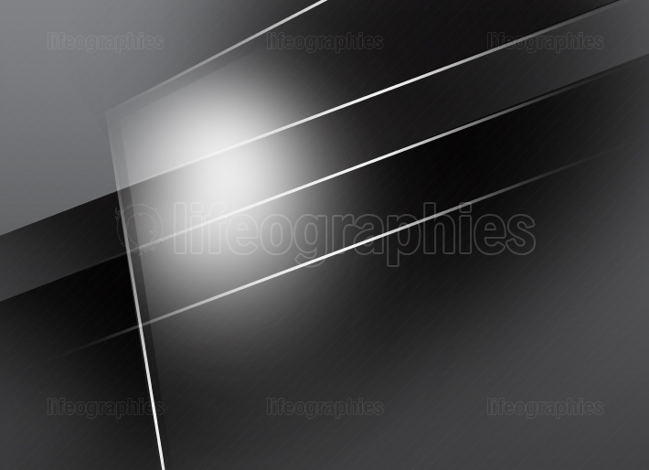 Monochromatic Gray Background with Surfaces and White Lines VI
