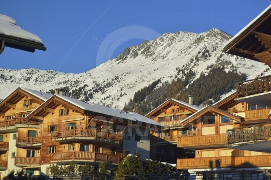 Mountain village verbier