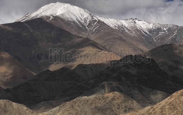 Mountains in ladakh, india