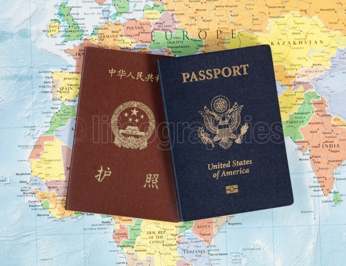 National passports for travelling the world