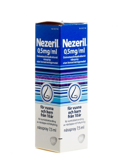 Nezeril nasal spray