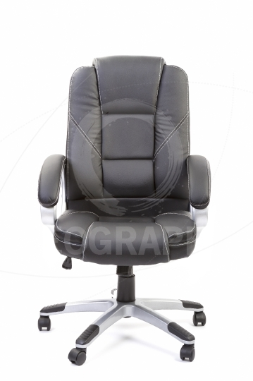 Office chair on white