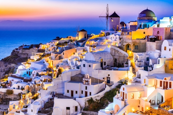 Oia sunset, Santorini   Greek Islands
