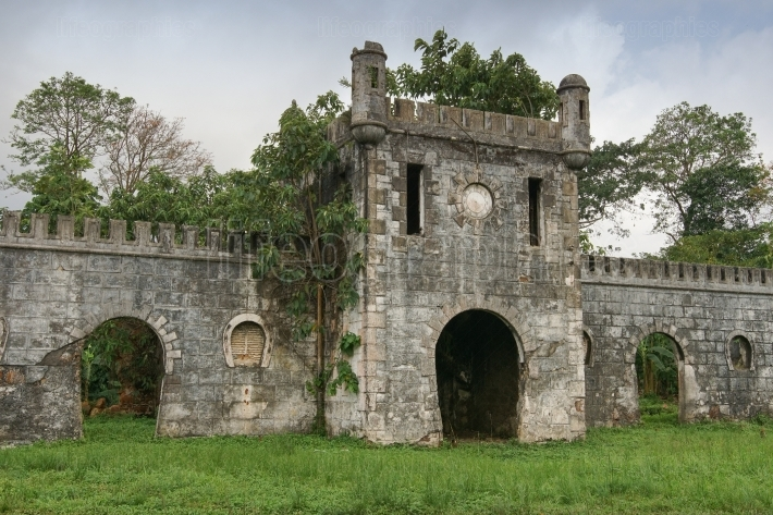 Old plantation, Sao Tome and Principe, Africa