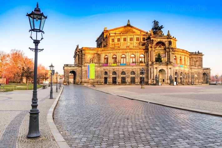 Opera in Dresden, Germany
