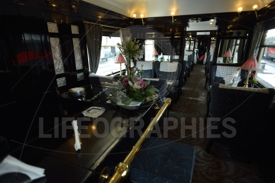 Orient Express Interior restaurant