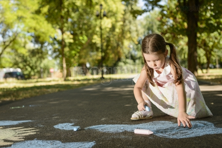 Outdoor activities for children concept