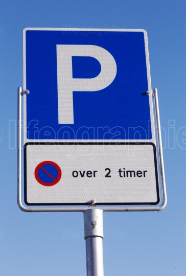 Parking allowed for two hours