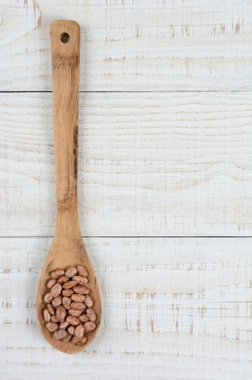 Pinto Beans Wooden Spoon