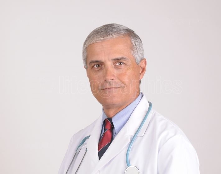 Portrait of Mature Doctor