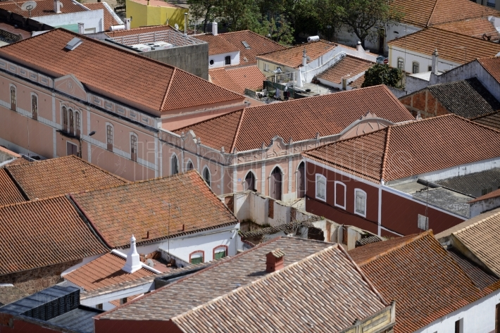 PORTUGAL ALGARVE SILVES OLD TOWN