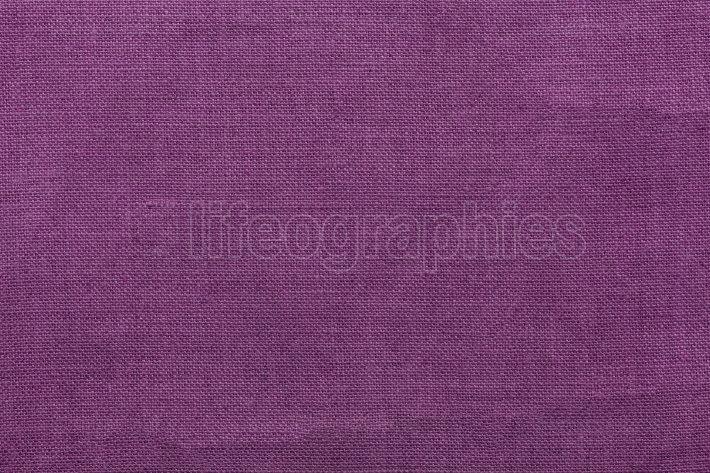 Purple burlap background and texture