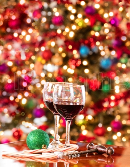Red wine for the seasonal holidays