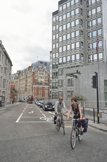 Ride your bike on streets of london