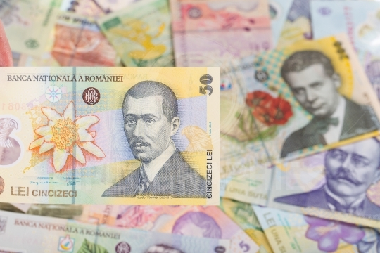 Romanian banknote of 50