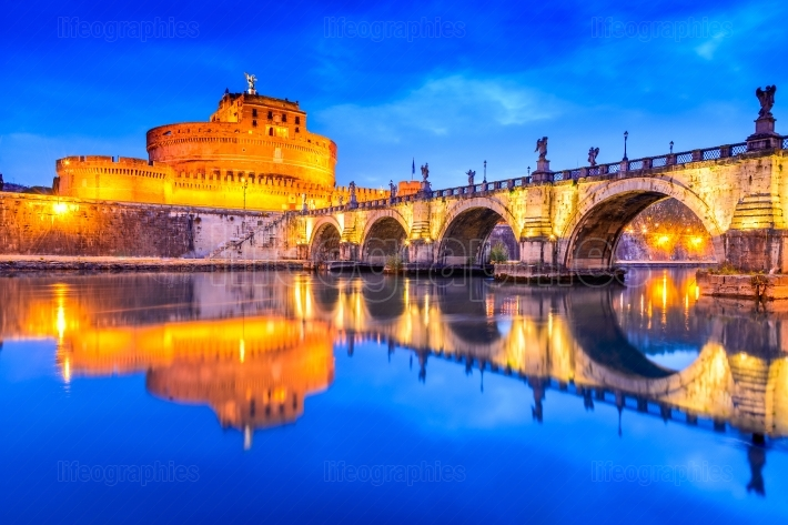 Rome, Italy - Castle Sant Angelo