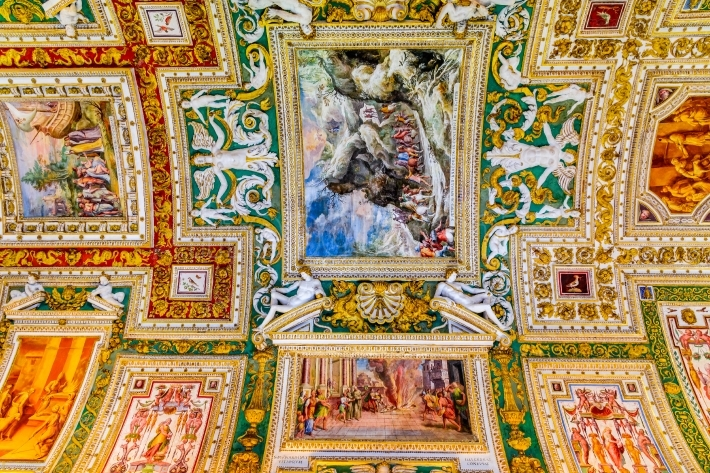 Rome, Italy - Vatican, Gallery of Maps