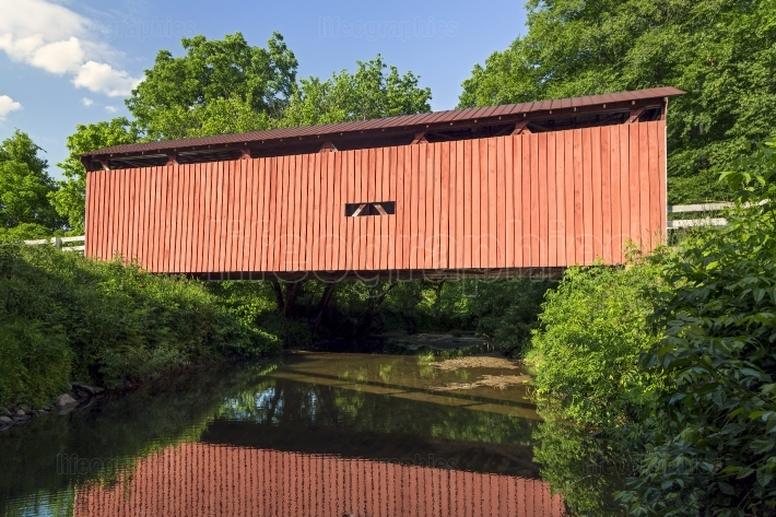 Root Covered Bridge Reflection
