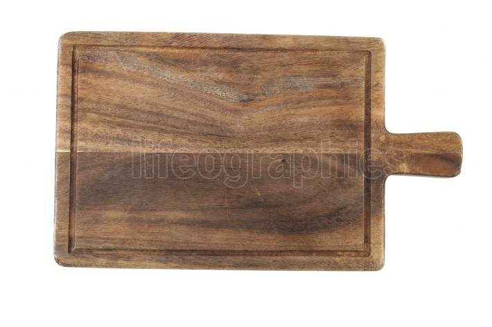Rustic Wooden Food Serving Board