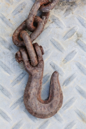 Rusty Iron Hook