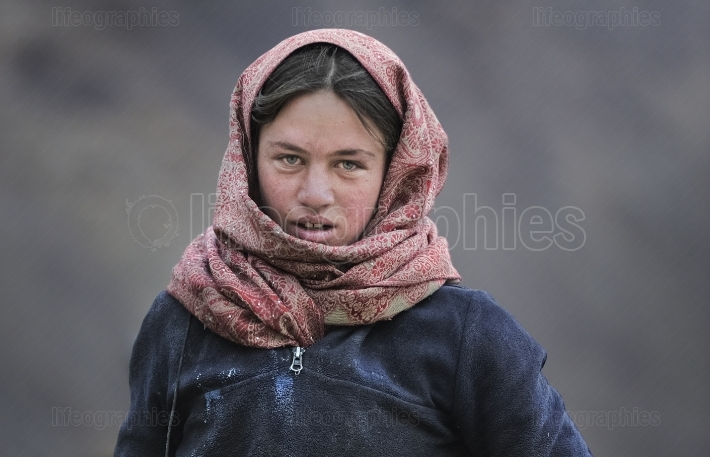Sajida girl from Upper Shimshal village
