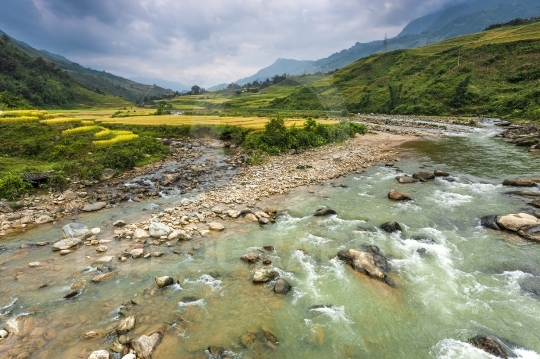Sapa valley river