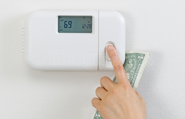 Saving money from heating home