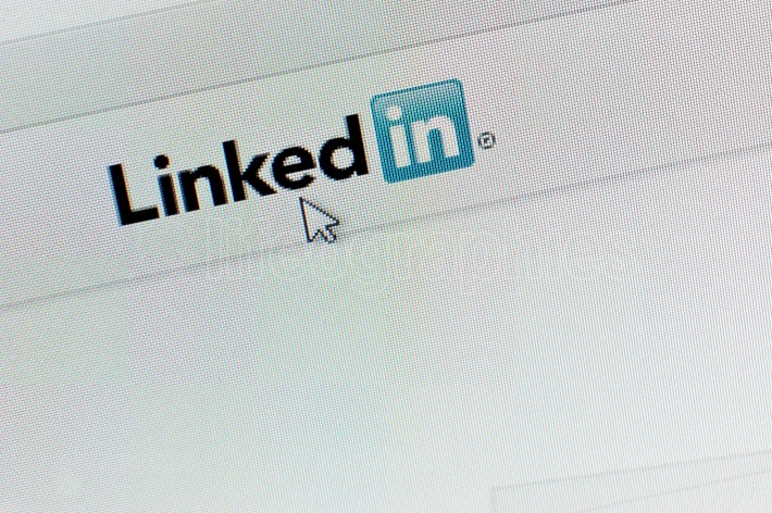 Screenshot  of linkedin icon