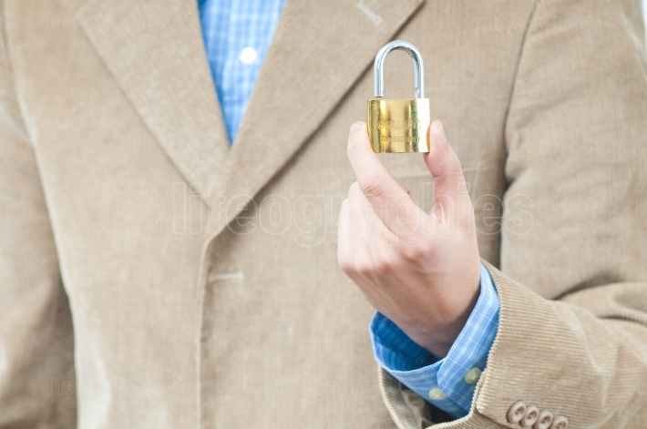 Security with a Padlock