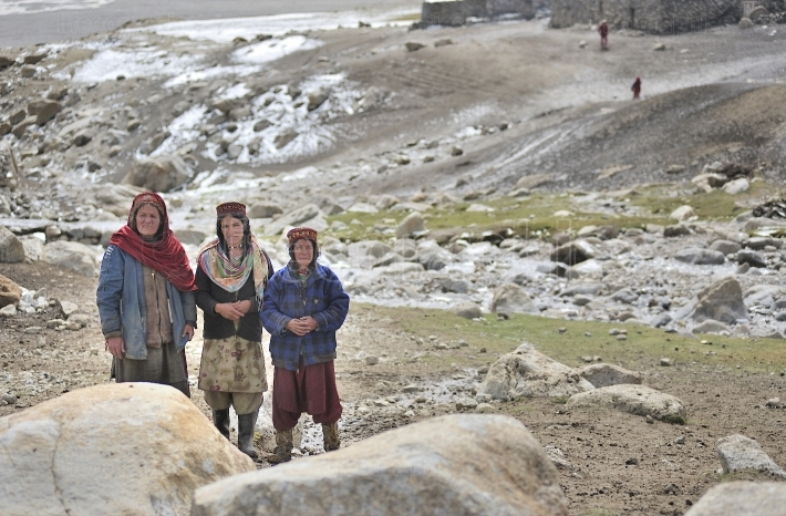 Shimshali family from upper Shimshal village.