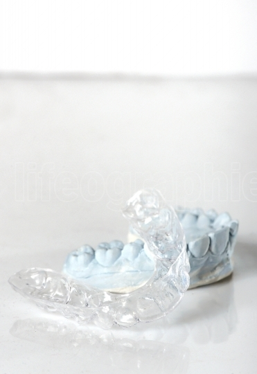 Silicone dental tray and mold