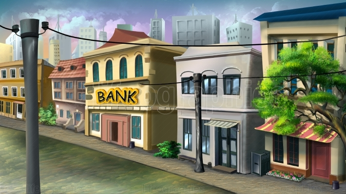 Small Bank in Old City
