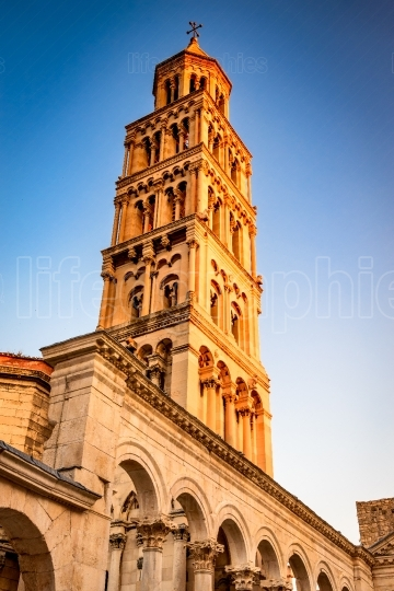 Split, Croatia   Belfry of Saint Domnius