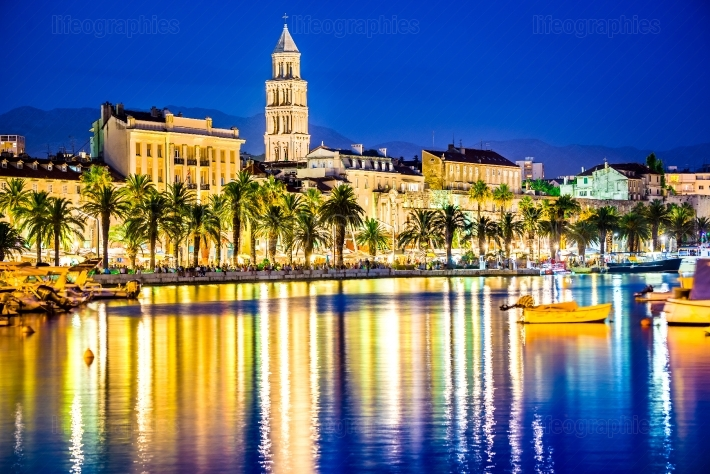 Split, Croatia - Diocletian Palace and Domnius Cathedral