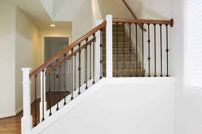 Staircase in Modern Home