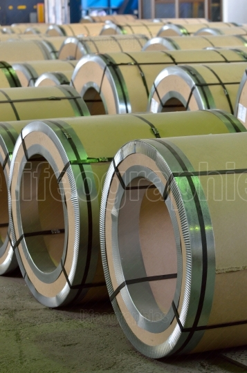 Steel coil pack