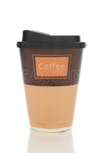 Styrofoam Coffee Cup