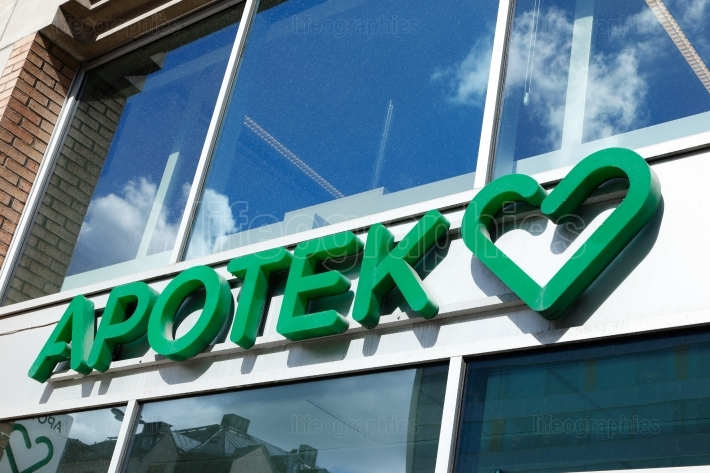 Swedish pharmacy Apotek Hjartat