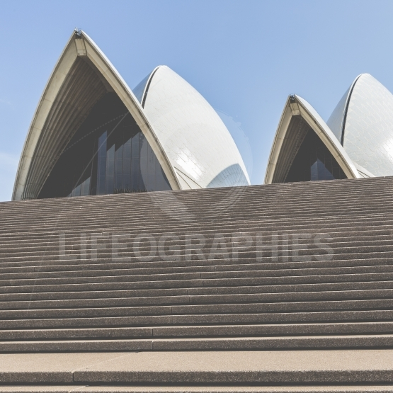 SYDNEY   OCTOBER 25  Sydney Opera House view on October 25, 2015