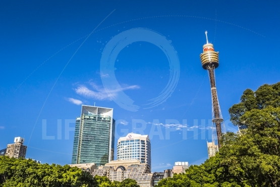 SYDNEY   OCTOBER 27  Sydney Tower on October 27, 2015 in Sydney,