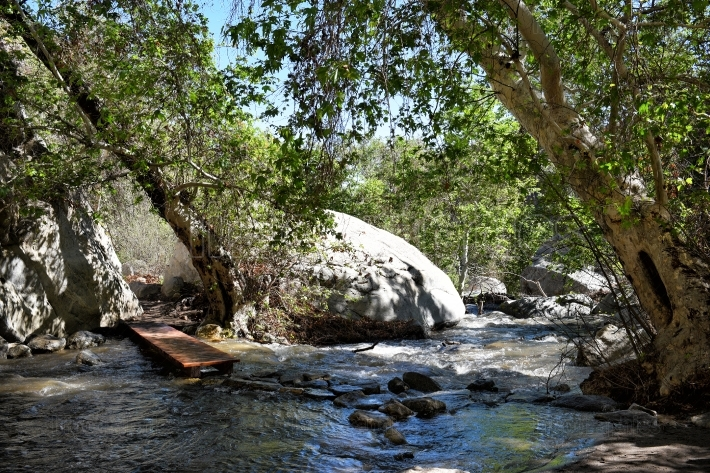 Tahquitz Canyon Creek Bridge