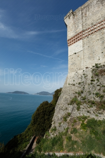 The castle of Lerici